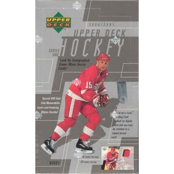 2000/01 Upper Deck Series 1 Hockey Hobby Box