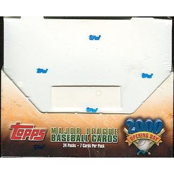 2000 Topps Opening Day Baseball Hobby Box