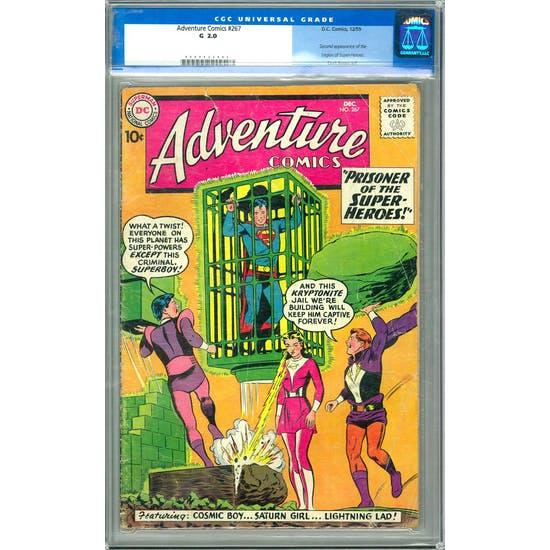 Adventure Comics #267 CGC 2.0 *0000422003*