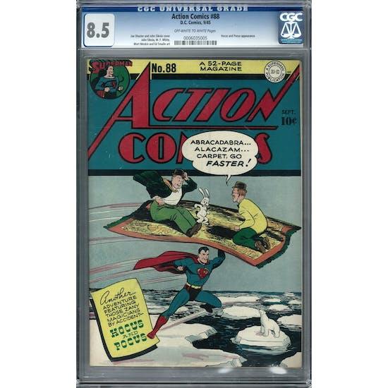Action Comics #88 CGC 8.5 (OW-W) *0006035005*