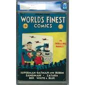 World's Finest Comics #5 CGC 6.0 (LT-OW) *0010863014*