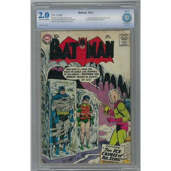 Batman #121 CBCS 2.0 (C-OW) *0014390-AA-001*