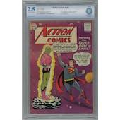Action Comics #242 CBCS 2.5 (C-OW) *0014390-AA-002*