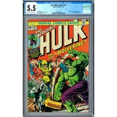 Incredible Hulk #181 CGC 5.5 (OW-W) *0030030003*