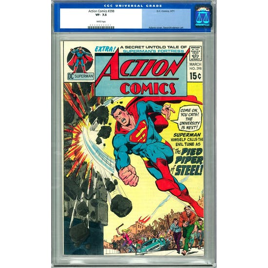 Action Comics #398 CGC 7.5 (W) *0040845007*