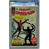 Amazing Spider-Man #3 CGC 8.0 (OW) *0051861001*