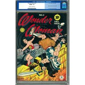 Wonder Woman #2 CGC 7.0 (OW-W) *0056431009*