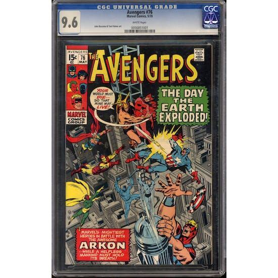 Avengers #76 CGC 9.6 (W) *0056851001*