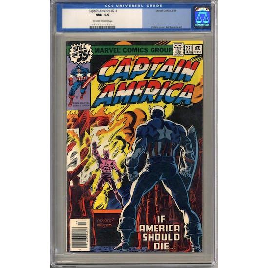 Captain America #231 CGC 9.6 (OW-W) *0057154014*