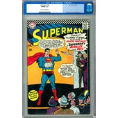 Superman #185 CGC 5.0 (C-OW) *0059984004*