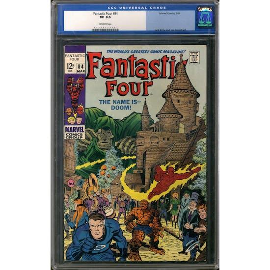 Fantastic Four #84 CGC 8.0 (OW) *0066833004*