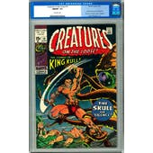Creatures on the Loose #10 CGC 9.8 (OW) *0072630022*