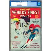 World's Finest Comics #4 CGC 7.0 (OW-W) *0073632003*