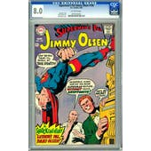 Superman's Pal Jimmy Olsen #109 CGC 8.0 (OW) *0078163007*