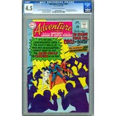 Adventure Comics #367 CGC 4.5 (OW-W) *0084043014*