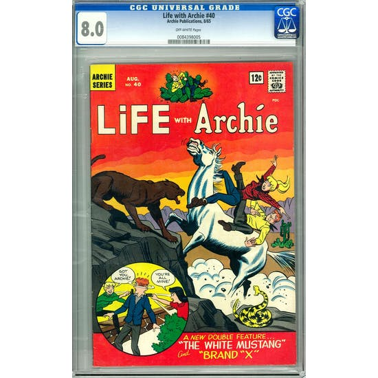 Life with Archie #40 CGC 8.0 (OW) *0084398005*