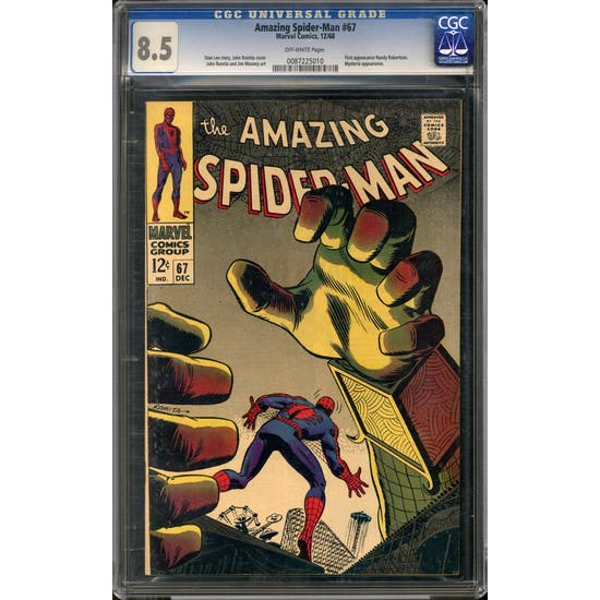 Amazing Spider-Man #67 CGC 8.5 (OW) *0087225010*