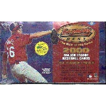 2000 Bowman's Best Baseball Hobby Box
