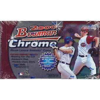 2000 Bowman Chrome Baseball Hobby Box