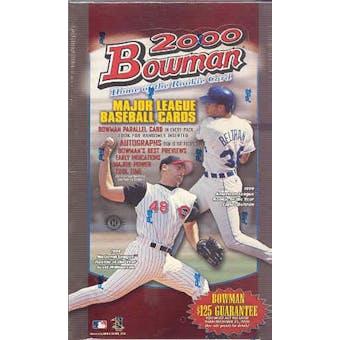 2000 Bowman Baseball Hobby Box
