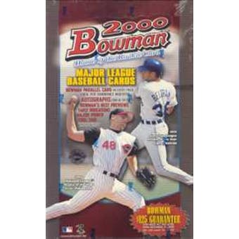 2000 Bowman Baseball Jumbo Box