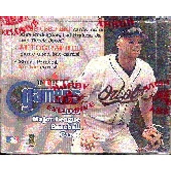 2000 Fleer Gamers Baseball Hobby Box