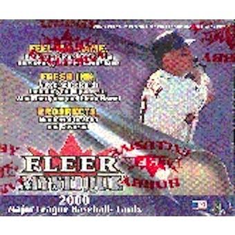 2000 Fleer Mystique Baseball Hobby Box