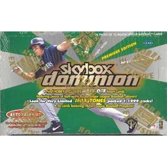 2000 Fleer Skybox Dominion Baseball Hobby Box