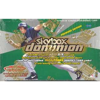 2000 Fleer Skybox Dominion Baseball Hobby Box