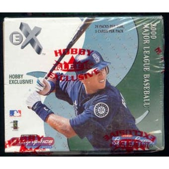 2000 Fleer E-X Baseball Hobby Box