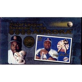 2000 Pacific Aurora Baseball Hobby Box