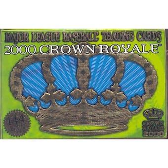 2000 Pacific Crown Royale Baseball Hobby Box