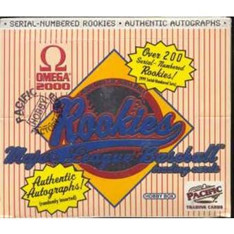 2000 Pacific Omega Baseball Hobby Box