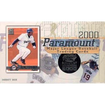 2000 Pacific Paramount Baseball Hobby Box