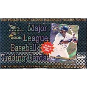 2000 Pacific Prism Baseball Hobby Box