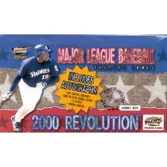 2000 Pacific Revolution Baseball Hobby Box
