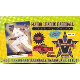 2000 Pacific Vanguard Baseball Hobby Box