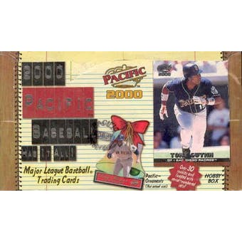 2000 Pacific Baseball Hobby Box