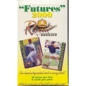2000 Royal Rookies Baseball Hobby Box