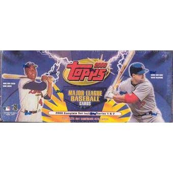 2000 Topps Baseball Retail Factory Set (Blue)