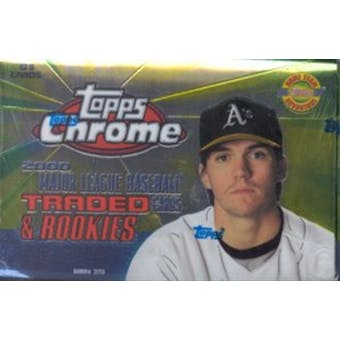 2000 Topps Chrome Traded & Rookies Baseball Factory Set (Box)