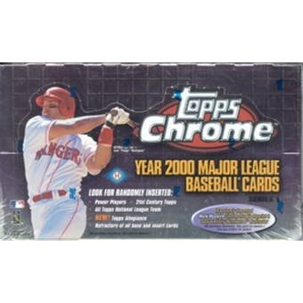 2000 Topps Chrome Series 1 Baseball Hobby Box
