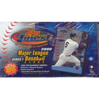 2000 Topps Finest Series 1 Baseball Hobby Box