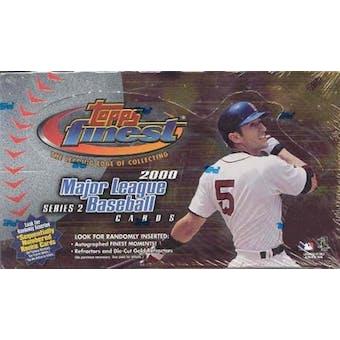 2000 Topps Finest Series 2 Baseball Hobby Box
