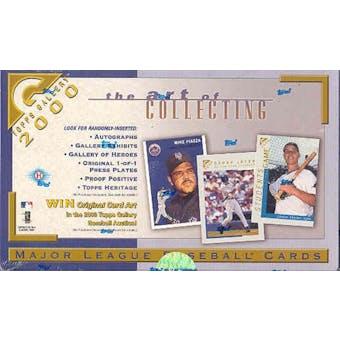 2000 Topps Gallery Baseball Hobby Box