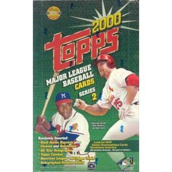 2000 Topps Series 2 Baseball Jumbo Box