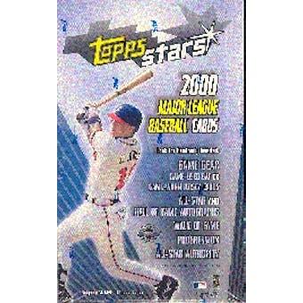 2000 Topps Stars Baseball Hobby Box