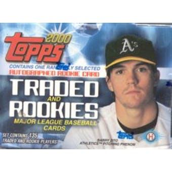 2000 Topps Traded & Rookies Baseball Factory Set (Box)