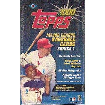 2000 Topps Series 1 Baseball Hobby Box