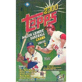 2000 Topps Series 2 Baseball Hobby Box